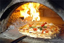 Wood fired ovens for pizza