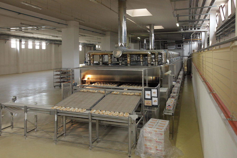 bread manufacturing business plant