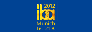 Come and meet us at IBA 2012 in Munich!
